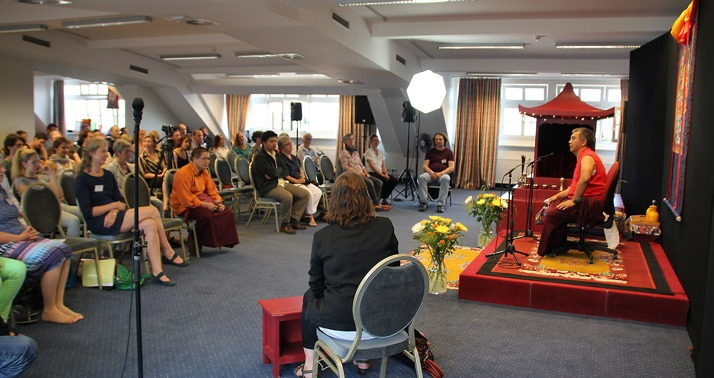 Public Talk with His Eminence Dzogchen Rinpoche