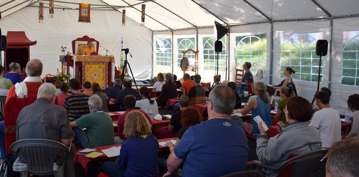 Retreat with His EminenceDzogchen Rinpoche